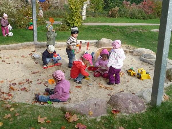 Kinderspielplatz Zwergenhaus