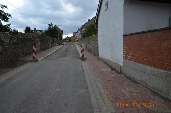 Straßen- und Tiefbauarbeiten Springstraße