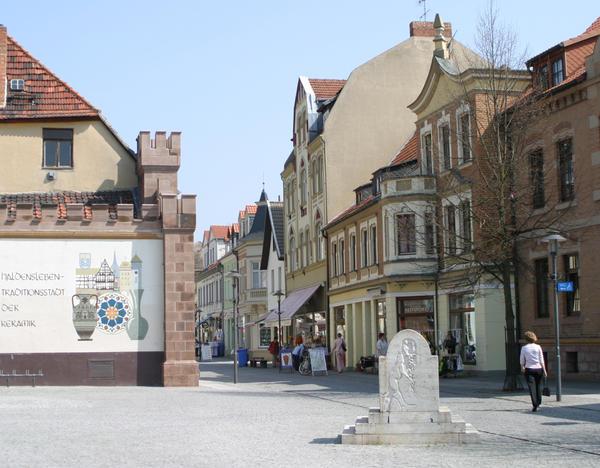 Blick vom Hagentorplatz in die Hagenstraße