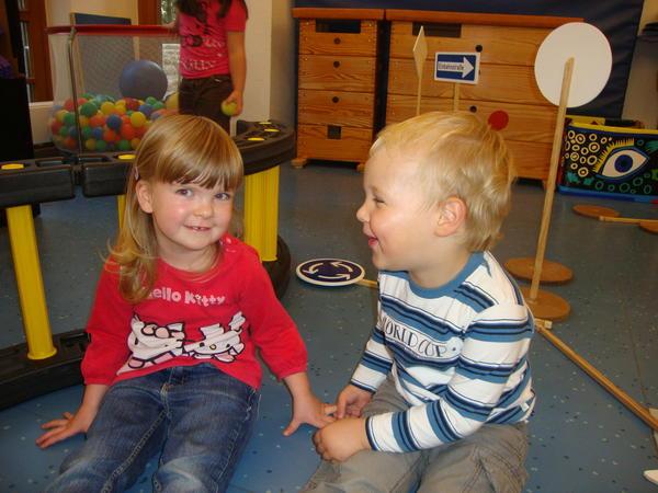 Kinder in der Kita Märchenburg