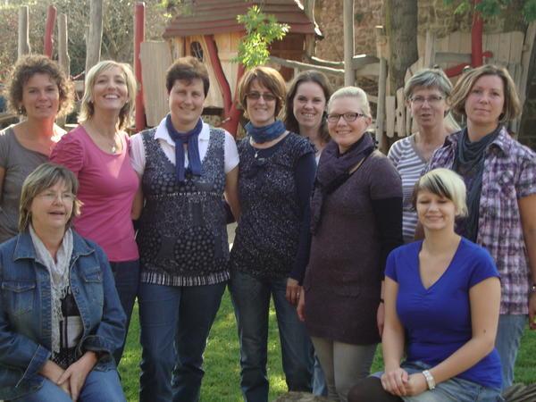 Das Team der Kita Märchenburg