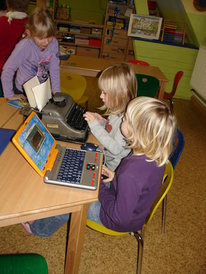 Vorschulkinder beim Spielen