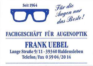 Logo Augenoptik Uebel