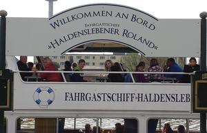 Willkommen auf dem Fahrgastschiff Haldensleber Roland