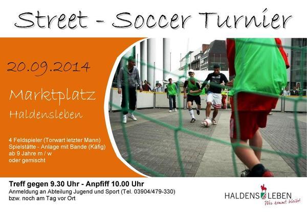 Street - Soccer 2014