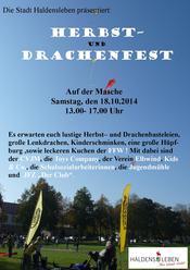 Herbst und DFrachenfest 2014