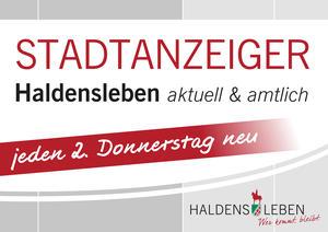 Stadtzeiger-Aufsteller-Plakat