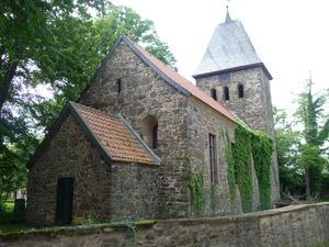 Außenansicht der Kirche in Wedringen