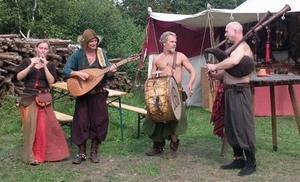 Drei rauhe Gesellen & ein zartes Weib: Scherbelhaufen - Musici vom Feinsten