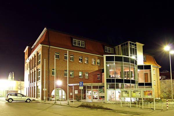 KulturFabrik bei Nacht