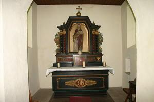Altar der Kapelle St. Anna