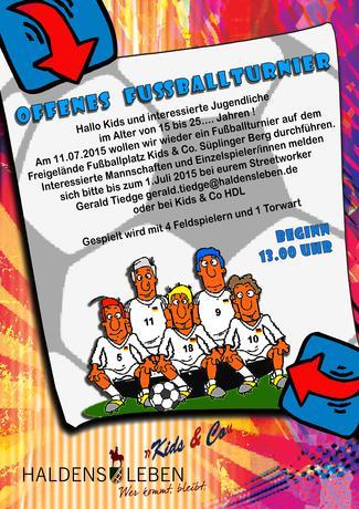Fußballtunier 2015