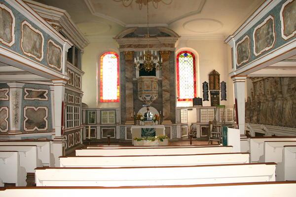 Innenansicht der Sankt Andreaskirche