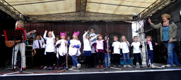 Chorauftritt Haldensleber Kinderfest