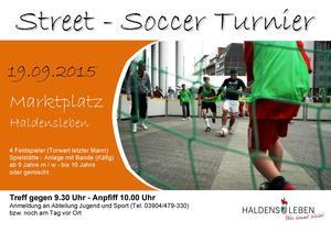 Street - Soccer - Turnier 2015