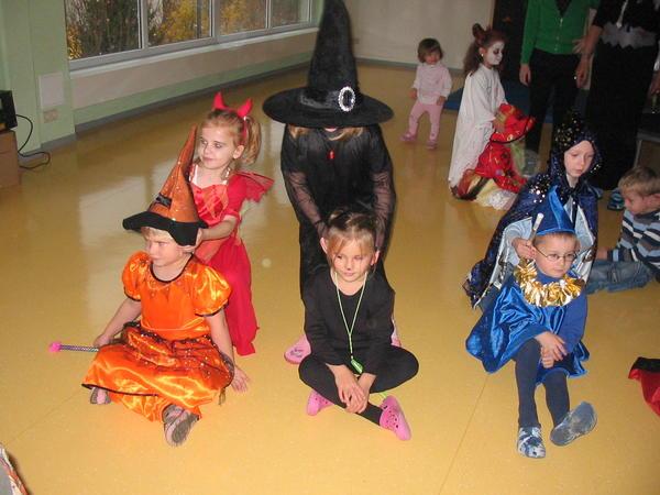 Hexenfest in der Kita Max und Moritz