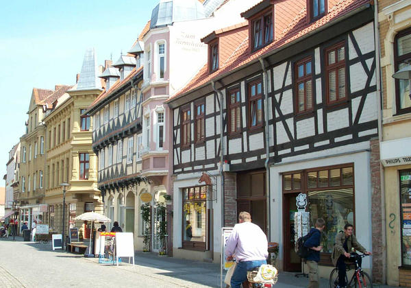 Blick in die Hagenstraße