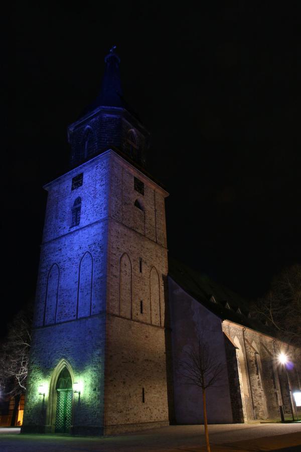 Blick auf St. Marien