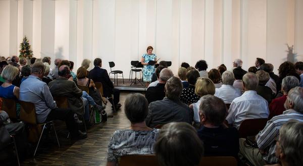Bürgermeisterin Regina Blenkle zur Eröffnung der SMA 2016