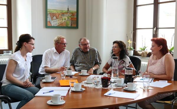 Gesprächsrunde im Rathaus Haldensleben