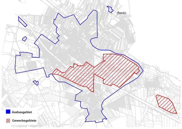 Lageplan Breitband