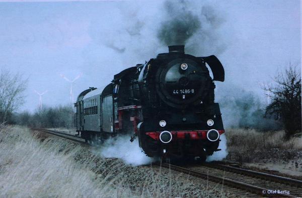 Diese 44er Dampflok wird Süße-Tour-Gäste nach Haldensleben bringen