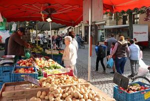 Wochenmarkt Hagenstraße/Hagentorplatz