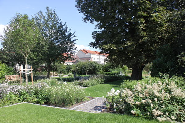Weißer Garten