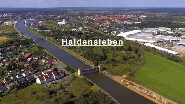 Start Video Haldensleben aus der Luft