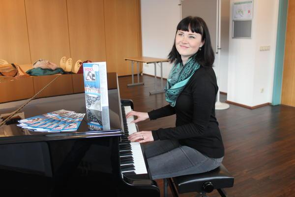 Findet immer die richtigen (Programm)-Töne: Asteinclub-Leiterin Janina Otto