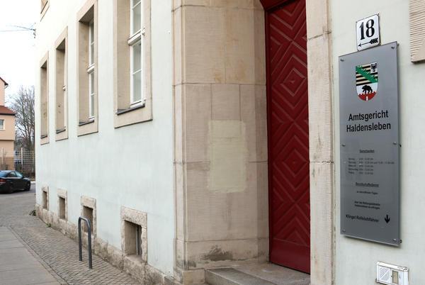 Das Amtsgericht Haldensleben an der Stendaler Str. 18