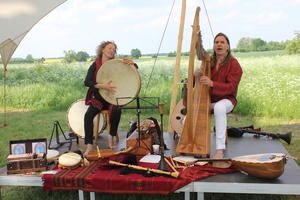 Flixa und Kilian - Klangvoller Rahmen auf historischen Instrumenten