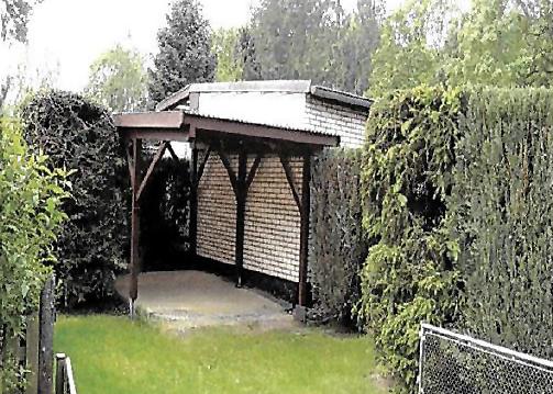 Bungalow Heimbergsiedlung Carport