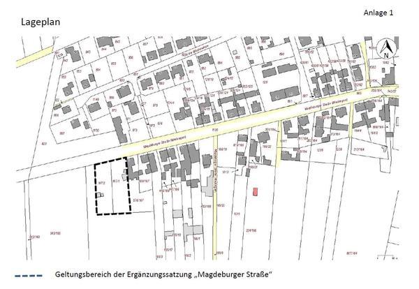Lageplan Magdeburger Str