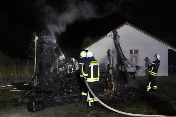 Feuerwehreinsatz Parkstadion Hundisburg
