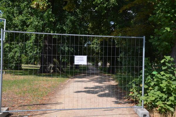 Der Alte Friedhof musste bereits gesperrt werden.