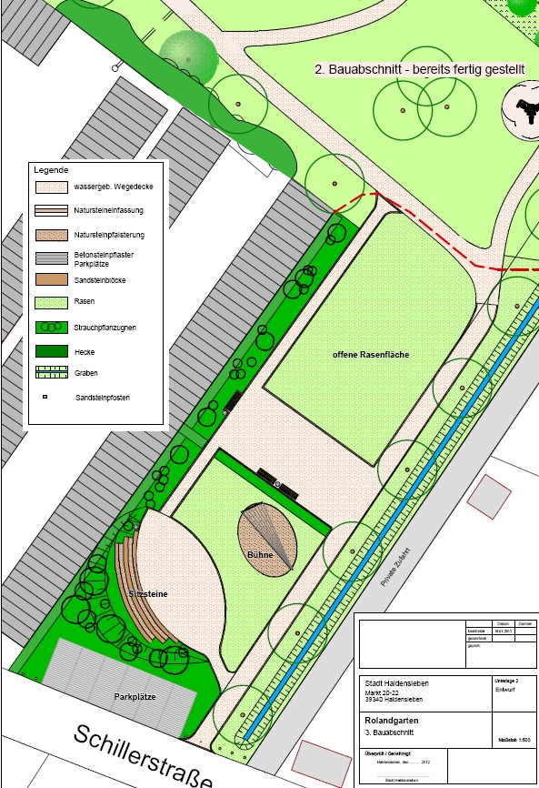 Plan 3. TA Rolandgarten Foto