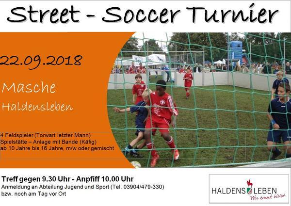 Street Soccer 2018
