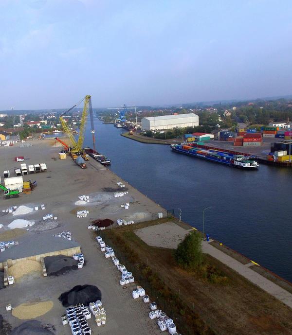 Luftaufnahme Südhafen