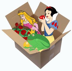 Märchen aus dem Karton