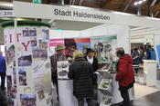 Karl May & Co am Messestand