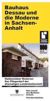Bauhaus Flyer Titel