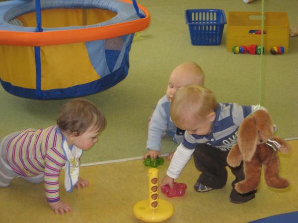Unsere Jüngsten beim Forschen und Entdecken